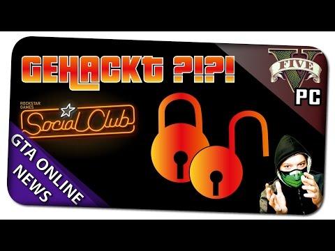 GTA 5 ONLINE - SOCIAL CLUB GEHACKT ?!? ÄNDERE SOFORT DEIN PASSWORT! - (GTA 5 Gameplay)