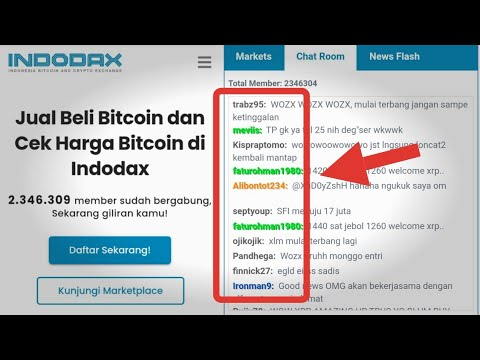 bitcoin chat room)
