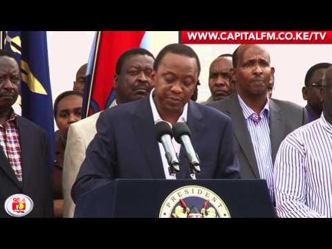 We will crush terrorism -- Uhuru
