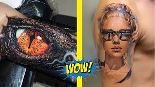 The Most Amazing 3D Tattoos That Are Too Perfect To Be Real