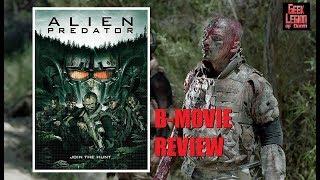 ALIEN PREDATOR ( 2018 Xavi Israel ) Asylum Sci-Fi Movie Review