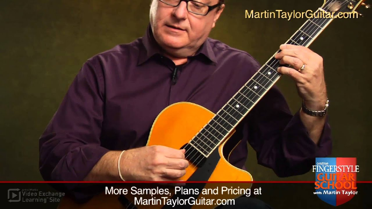Fingerstyle Guitar with Martin Taylor: Walking Bass Lines - YouTube