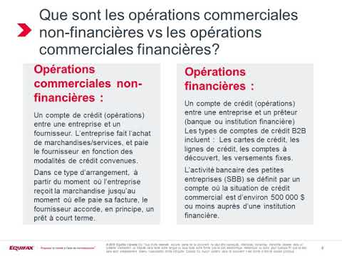 Webinaire: Série commerciale de pointages du risque d'Equifax indicateurs et pointages