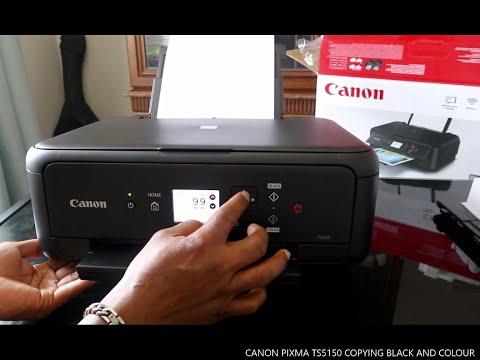 CANON PIXMA TS5150 COPYING BLACK AND COLOUR