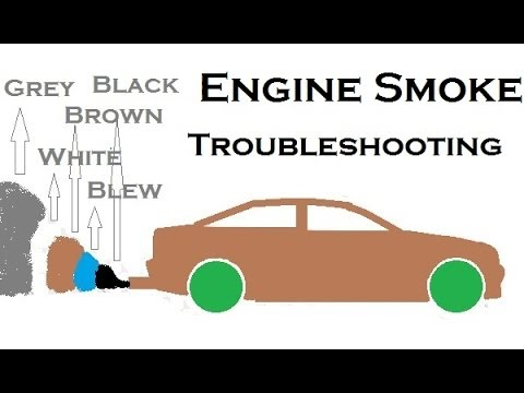 How To Troubleshoot Engine Smoke Color Issues Must Watch Youtube