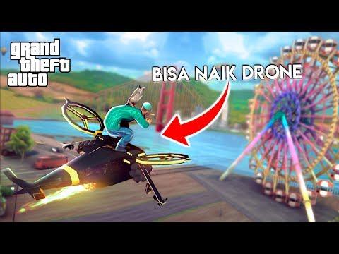 BARU Lagi ! GTA Android Terbaru ! Bisa Naik Drone ! - 동영상