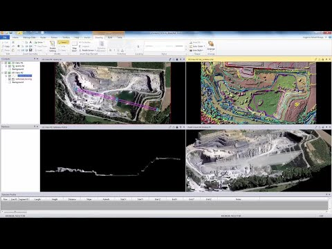 Quarry Volume Change Identification and Computation with ERDAS IMAGINE