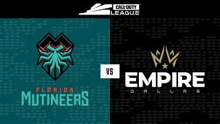 Knockout C | Florida Mutineers vs Dallas Empire | Toronto Ultra Home Series | Day 2