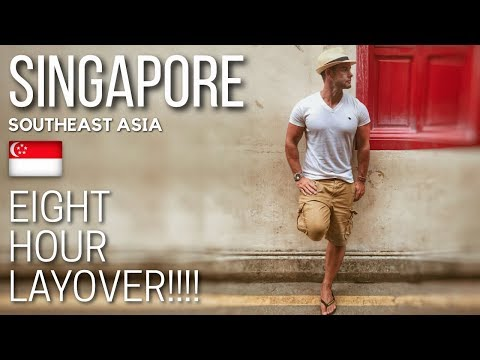 SINGAPORE TRAVEL VLOG | Changi Airport and Layover in Singapore