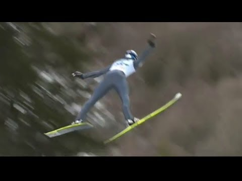 Thomas Morgenstern Kulm Fall - Very Bad Looking Accident ! (10.01.2014)