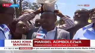 Maribel aombolezwa: Maandamano yafanywa juu yake