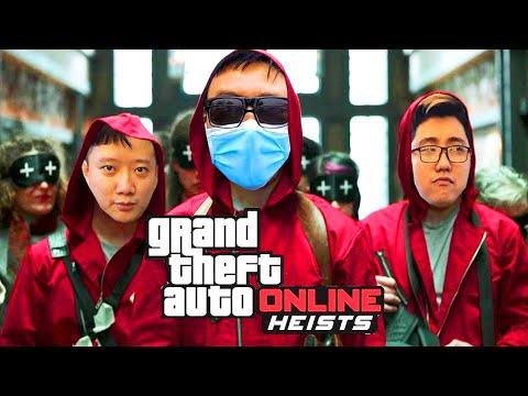 GTA ONLINE Heist: VỤ CƯỚP TÙ HOÀN HẢO & CÁI KẾT OAN NGHIỆT PHÚT 99 =))))