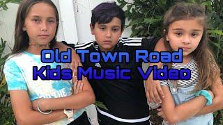 Old Town Road Kids Music Video || DBJB Vids