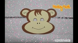 Mask for Kids | How to make Monkey Mask for Kids | Animal Mask for Kids