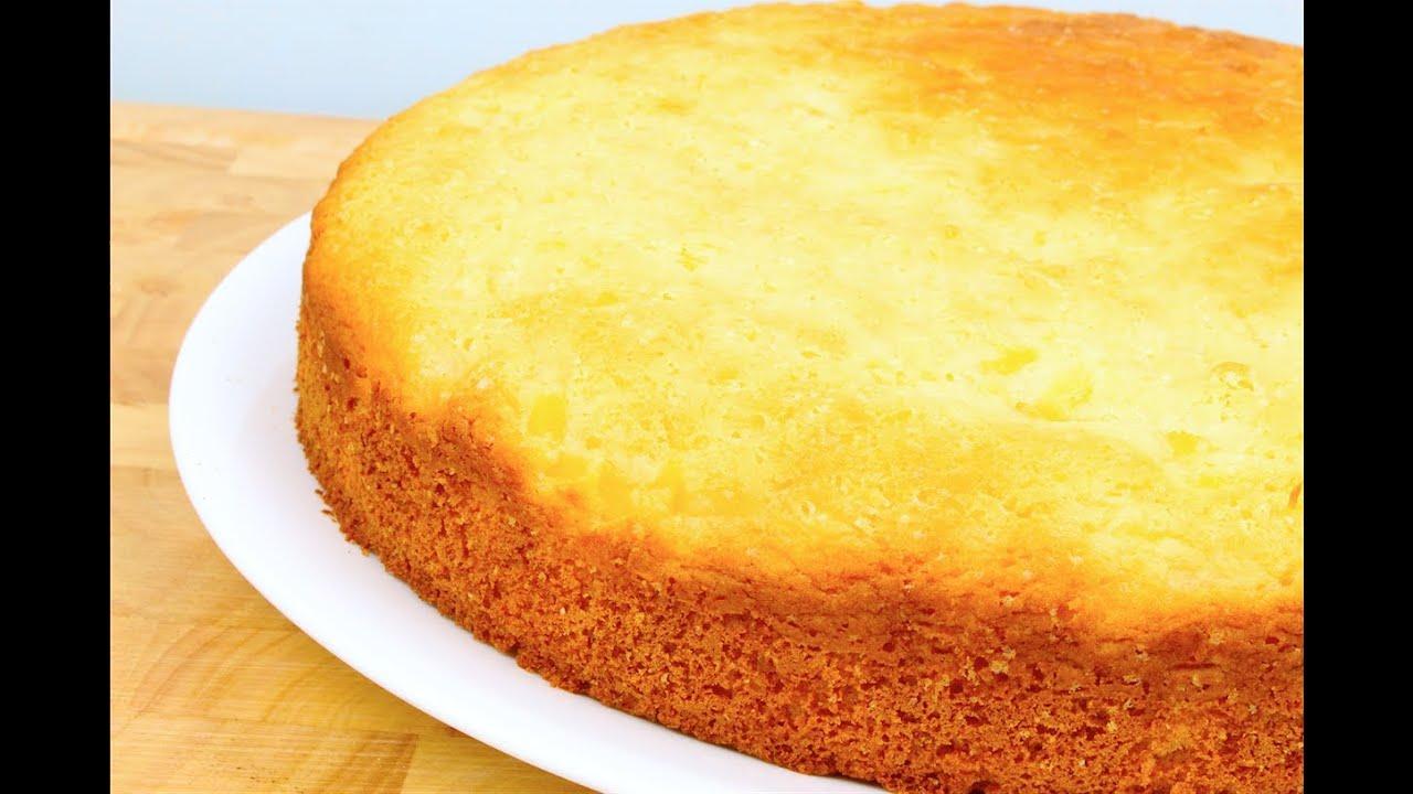 Fabuleux 3 ingredient pineapple cake - YouTube GM54