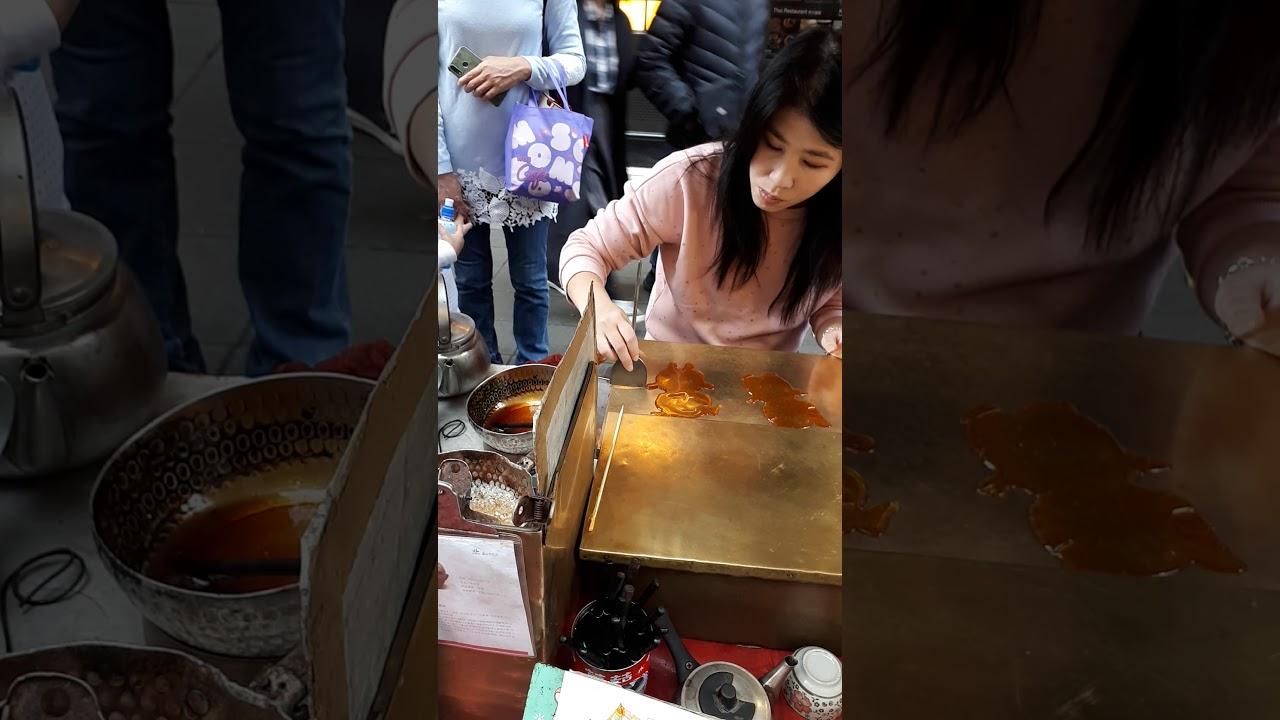 台北,糖画