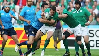 Ireland will take their place in the quarter-finals after defeating italy at olympic stadium.follow world rugby on social media:official website! http://...