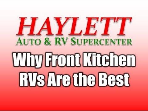 HaylettRV - Why Front Kitchen RVs are the Best with Josh the RV Nerd ...