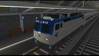 ROBLOX Terminal Railways: AEM-7 Cabride Part 1