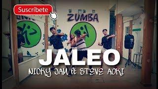 "JALEO - ""Nicky Jam ft Steve Aoki"" zumba Video"