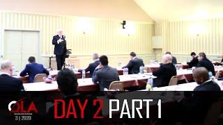 Day 2 Part 1 | March 2020 | Dan Peña QLA Castle Seminar