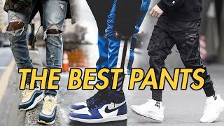 TOP 5 PANTS FOR STREETWEAR OUTFITS