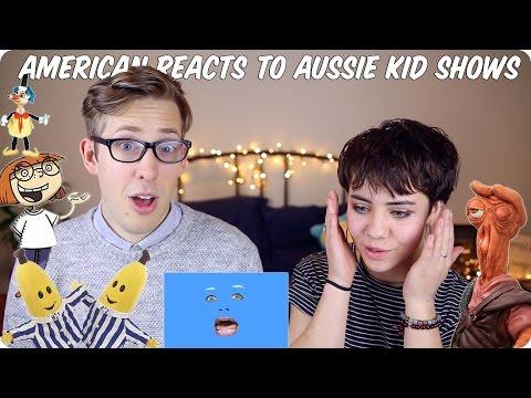 American Reacts to Australian Kids Shows! | Evan Edinger