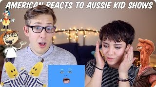 American Reacts to Australian Kids Shows! | Evan Edinger