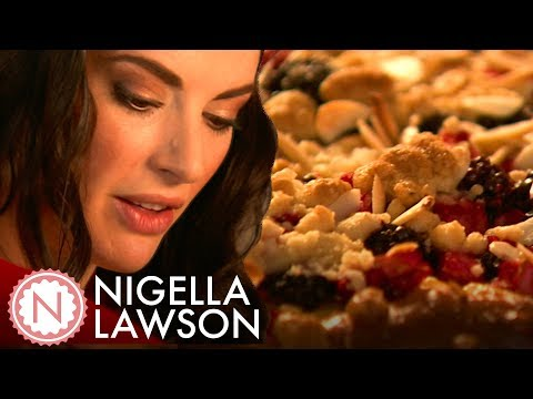 Nigella Lawson's Blackberry Apple Kuchen | Nigella Bites