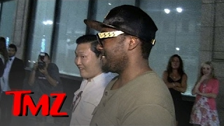 Psy and Will.i.am -- Don't Let Psy Drive! | TMZ