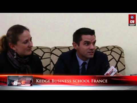 Chandigarh University - Kedge Business school France