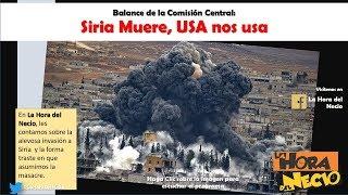 La Hora del Necio: Siria Muere, USA nos usa. 20042018. En Movimiento.
