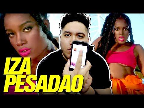 IZA - Pesadão (Participação especial Marcelo Falcão) REACTION!!!