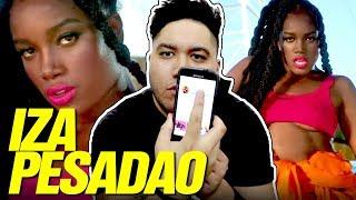 Baixar IZA - Pesadão (Participação especial Marcelo Falcão) REACTION!!!