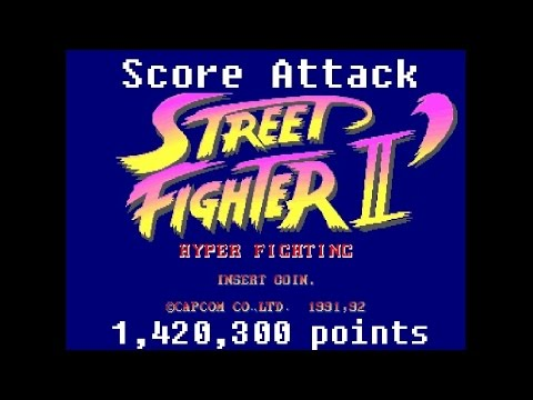 (Arcade) Street Fighter 2:Turbo - 1,420,300 points by Pete Hahn