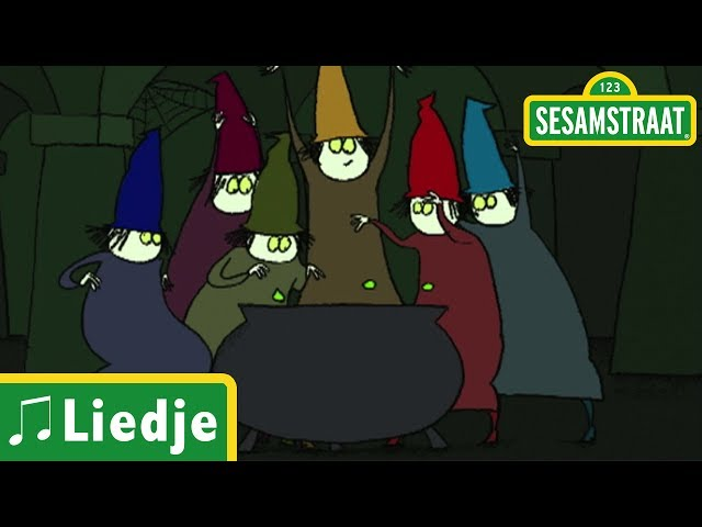 Zeven heksen - Liedje - Sesamstraat