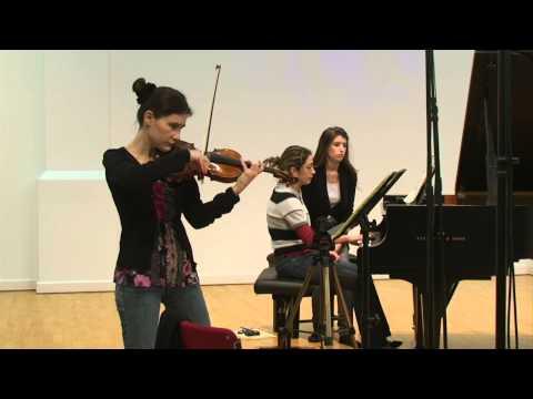 Saint-Saëns Sonata Op.102 - last movement (Fanny Clamagirand)