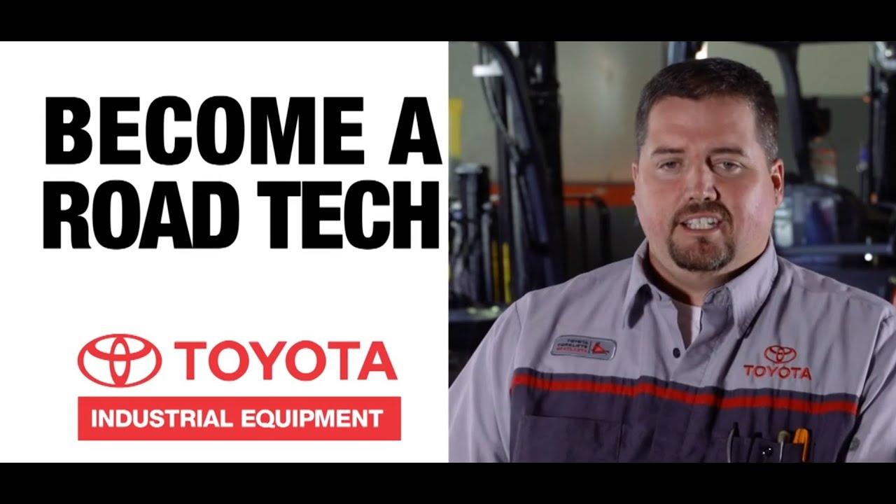 Toyota Forklift Technician Opportunites YouTube - Forklift mechanic