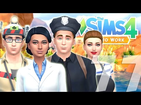 Let's Play: The Sims 4 Get to Work - (Part...