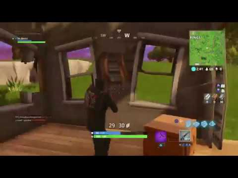 FORTNITE BATTLE ROYALE - HOW TO REMOVE NET/PING STATS
