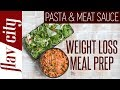 Can You Eat Spaghetti & Lose Weight?? Healthy Low Calorie Meal Prep