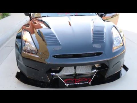 iJDMTOY Switchback LED Daytime Running Light Bulb Installation on Nissan GT-R