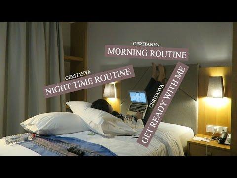 Ceritanya sih night - morning routine & get ready with me gitu.