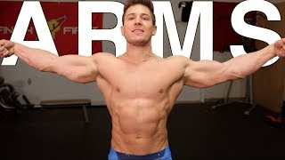 ARMS DESTROYED! (Biceps & Triceps) | Breaking The Natty Limit vLog #5
