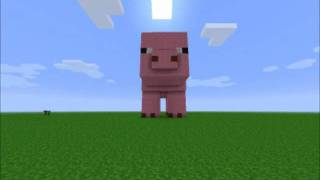 Minecraft: The Big Pig Song