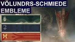 Destiny 2 Forsaken: Völundr-Schmiede Geheime Embleme (Deutsch/German)
