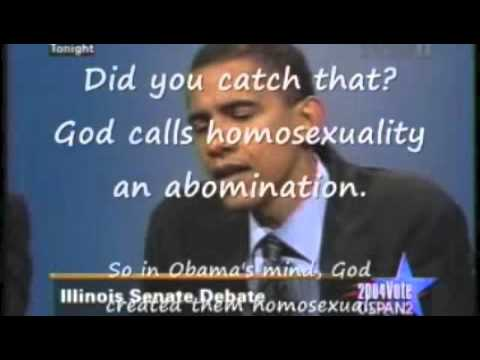 Obama on civil union