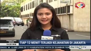 Tiap 12 Menit Satu Aksi Kriminal Terjadi di Jakarta