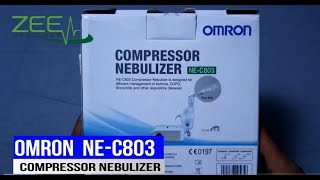 Omron Compressor Nebulizer NE-C803 Unboxing | Hindi | Full Review and Uses | Must Watch |