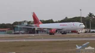 sbfz for pouso decolagem rwy13 airbus a330 200f pr onv avianca cargo 10 02 2015